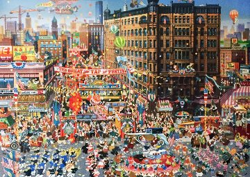 Great Tap Festival 1980 Limited Edition Print by Hiro Yamagata