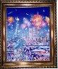 Happy Birthday Liberty U.S.A. Original 30x40 Original Painting by Hiro Yamagata - 4