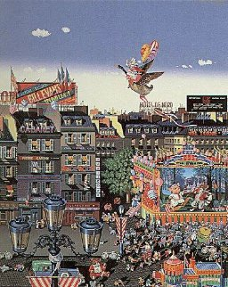 Once Upon a Time 1986 Limited Edition Print by Hiro Yamagata