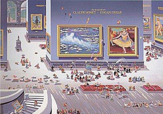 Museum 1984 Limited Edition Print by Hiro Yamagata