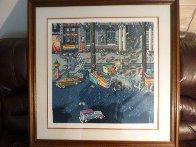 Robbers II 1984 Limited Edition Print by Hiro Yamagata - 1
