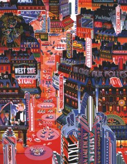 An American in Paris Limited Edition Print by Hiro Yamagata