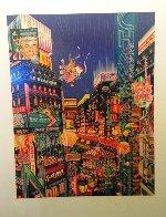 Neon AP 1986 Limited Edition Print by Hiro Yamagata - 1