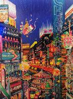 Neon AP 1986 Limited Edition Print by Hiro Yamagata - 0