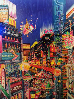 Neon AP 1986 Limited Edition Print by Hiro Yamagata