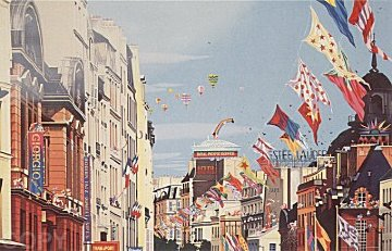 Banner Day 1995 Limited Edition Print - Hiro Yamagata