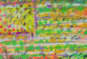 Mile Marker 2009 32x48 Original Painting by Tim Yanke