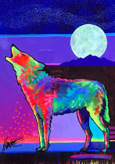 Four Winds Lone Wolf AP 2017 Limited Edition Print - Tim Yanke