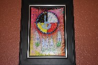 Four Directions 2012 Embellished Limited Edition Print by Tim Yanke - 2