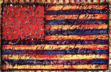 Yankee Doodle 2016  Limited Edition Print by Tim Yanke