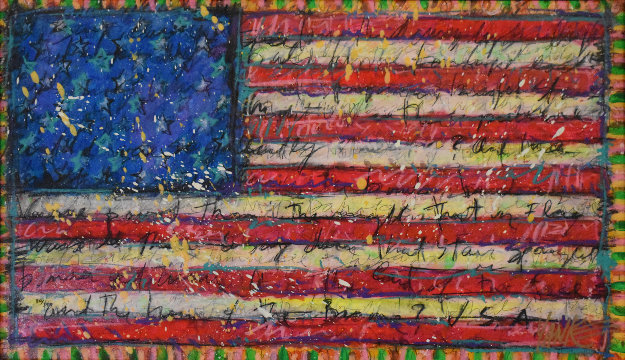 Yankee Doodle 2012 Limited Edition Print by Tim Yanke