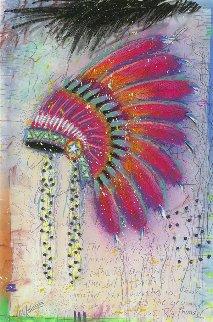 Big Thunder 2014 Embellished Limited Edition Print - Tim Yanke