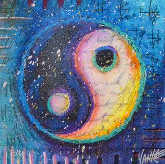 Yin Yanke 2014 Embellished Limited Edition Print by Tim Yanke