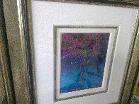 Blue Fertility 3-D 2015 Embellished Limited Edition Print by Tim Yanke - 4