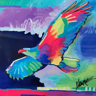 Four Winds Lone Eagle 2017 Limited Edition Print by Tim Yanke