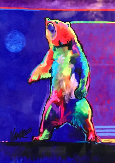 Four Winds Standing Bear 2017  Limited Edition Print by Tim Yanke