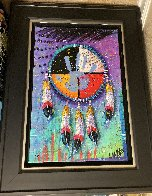 Four Directions 2014 Embellished Limited Edition Print by Tim Yanke - 1