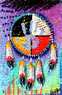 Four Directions 2014 Embellished Limited Edition Print by Tim Yanke - 0