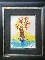 Vase Full of Grateful unique  2016 29x25 Original Painting by Tim Yanke - 2