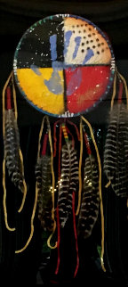 Four Directions 2014 50x31 Original Painting by Tim Yanke
