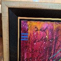 Paint It Black 2018  48x48 Super Huge Original Painting by Tim Yanke - 2