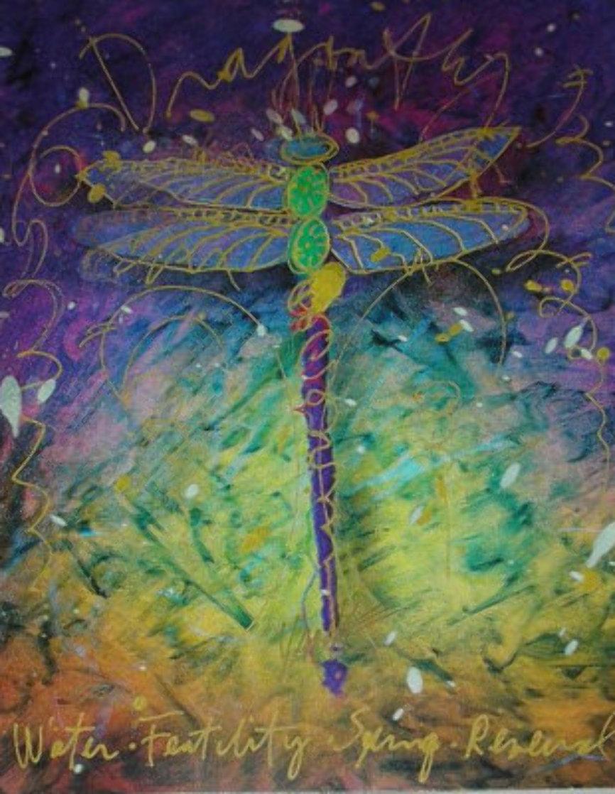 Violet Fertility Unique 2015 24x23 Works on Paper (not prints) by Tim Yanke