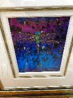 Blue Fertility Unique 2015 10x8 Works on Paper (not prints) by Tim Yanke - 2
