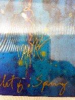 Blue Fertility Unique 2015 10x8 Works on Paper (not prints) by Tim Yanke - 4