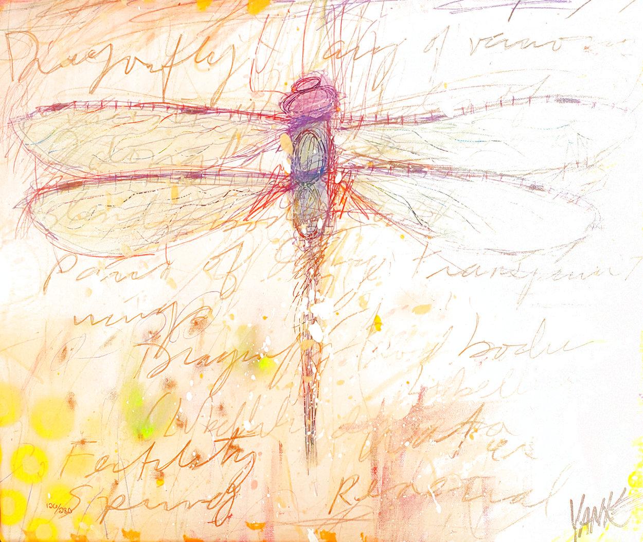 Dragonfly I 2011 Limited Edition Print by Tim Yanke