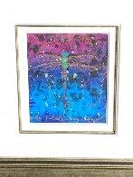 Blue Fertility Unique 2015 23x25 Works on Paper (not prints) by Tim Yanke - 3