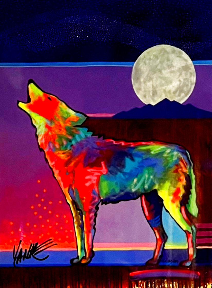 Four Winds Lone Wolf 2017 Limited Edition Print by Tim Yanke