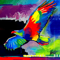 Four Winds Lone Eagle 2017 Limited Edition Print by Tim Yanke - 0