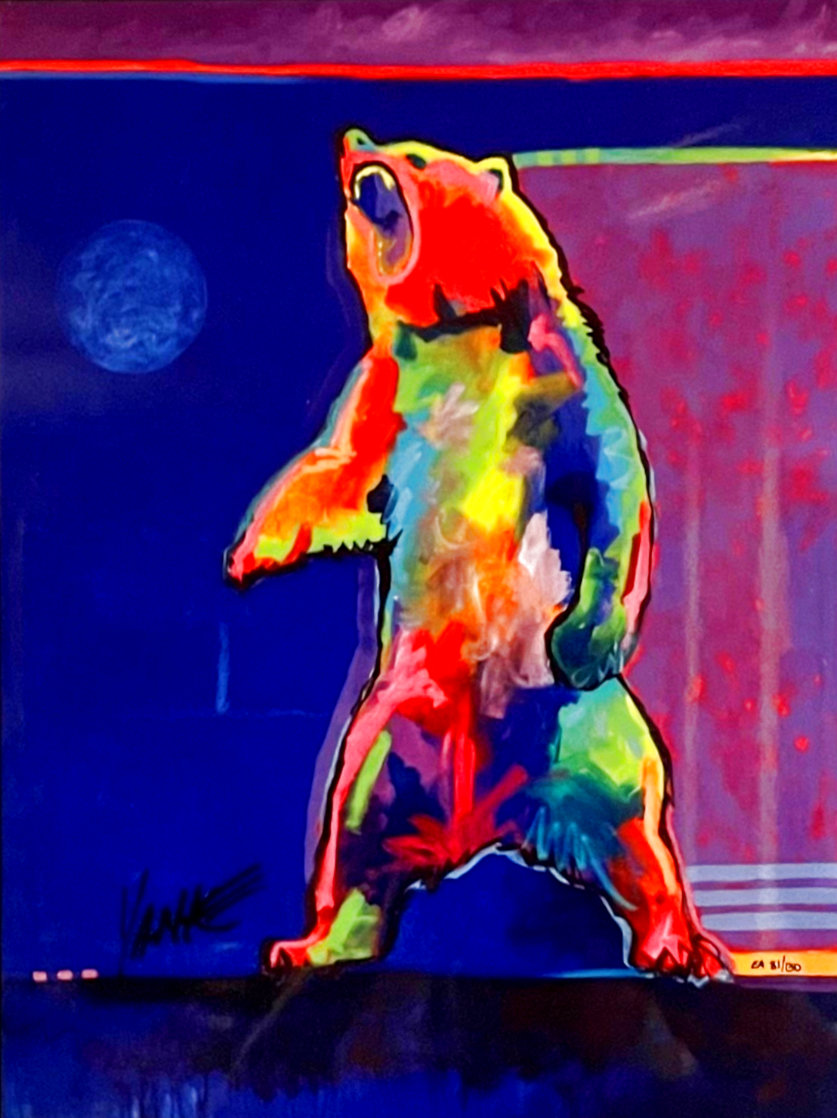 Four Winds Standing Bear EA 2017 Limited Edition Print by Tim Yanke