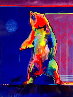 Four Winds Standing Bear EA 2017 Limited Edition Print - Tim Yanke