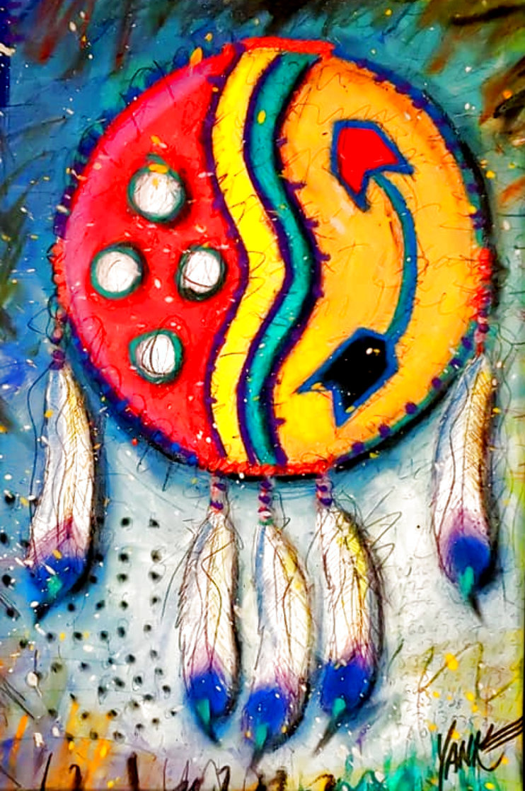 Indian Shield 2011 Limited Edition Print by Tim Yanke