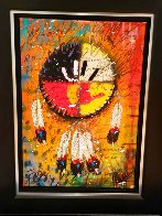 Four Directions AP 2011 Embellished Limited Edition Print by Tim Yanke - 1