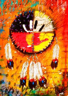 Four Directions AP 2011 Embellished Limited Edition Print - Tim Yanke