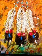 Four Directions AP 2011 Embellished Limited Edition Print by Tim Yanke - 4