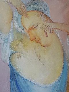 Self Conceited 49x41 Huge Original Painting - Gevorg Yeghiazarian