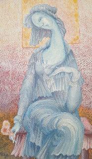 Maiden 2006 25x27 Original Painting - Gevorg Yeghiazarian