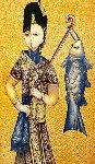 Sheranik 2014 15x7 Original Painting - Gevorg Yeghiazarian