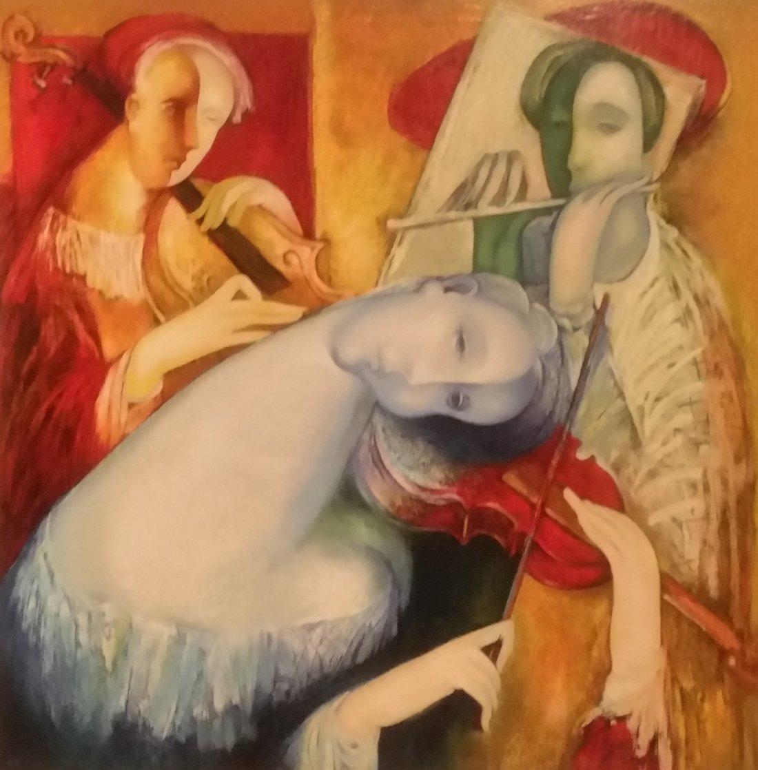 Tune of My Soul 2006 HS Limited Edition Print by Gevorg Yeghiazarian
