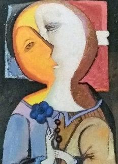 Blue Flower  Limited Edition Print by Gevorg Yeghiazarian