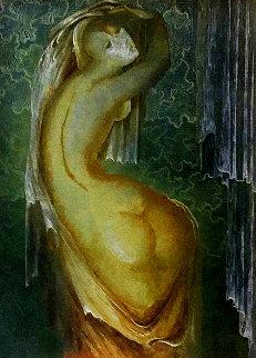 Untitled Painting 23x26 Original Painting - Gevorg Yeghiazarian