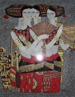 Spree 2000 47x42 Works on Paper (not prints) - Chen Yongle
