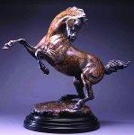 Tribute to Da Vinci Bronze Sculpture 2003 Sculpture - Star Liana York