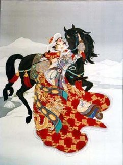 Spirit Unconquered 1993 Limited Edition Print by Caroline Young