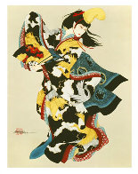 Fan Dancer Limited Edition Print by Caroline Young - 0