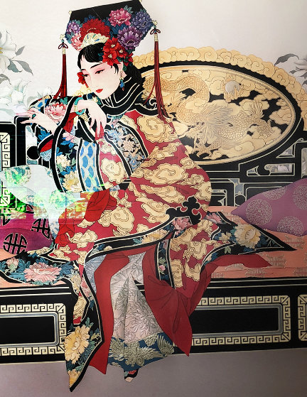 Manchurian Princess 1980 Limited Edition Print by Caroline Young