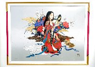 Courage And Devotion 1996  Limited Edition Print by Caroline Young - 2